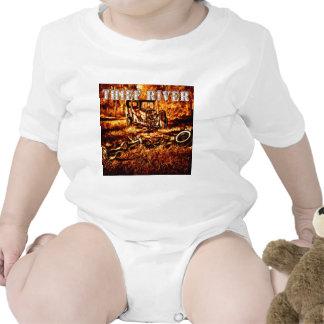 Río del ladrón traje de bebé