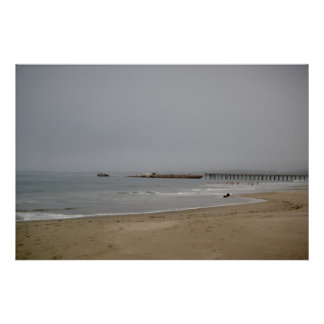 Rio Del Mar Beach Print