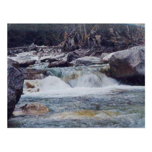 Río del Mt Robson Postales