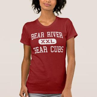 Río del oso - oso Cubs - centro - guirnalda Utah Camiseta