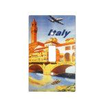 Río del puente de Florencia Firenze Italia del via Cubiertas Para Interruptor