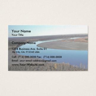 Río del puerco espín tarjetas de visita