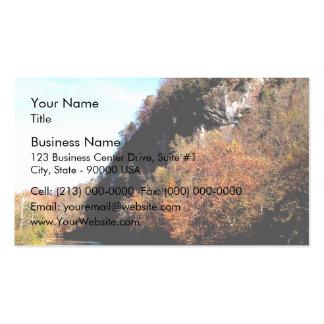 Río del remache tarjeta de visita
