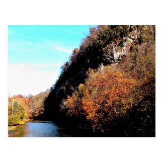 Río del remache tarjetas postales