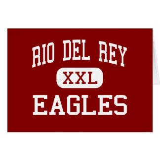 Río Del Rey - Eagles - continuación - timón Tarjeta De Felicitación