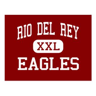 Río Del Rey - Eagles - continuación - timón Tarjeta Postal