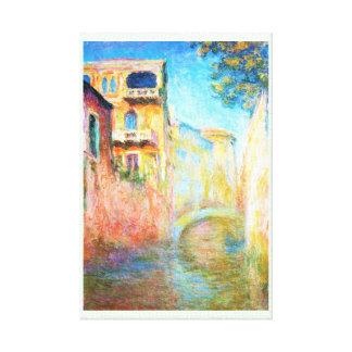 Rio della Salute  Claude Monet Gallery Wrapped Canvas