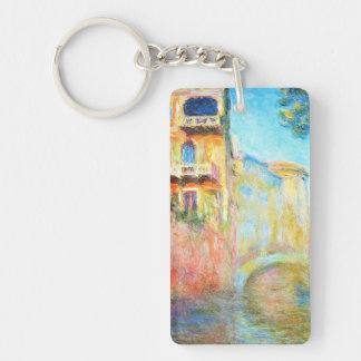 Rio della Salute  Claude Monet Keychain