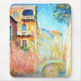 Rio della Salute  Claude Monet Mouse Pad