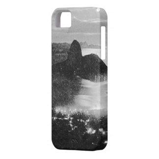 - Río - el Brasil blancos y negros iPhone 5 Case-Mate Protector