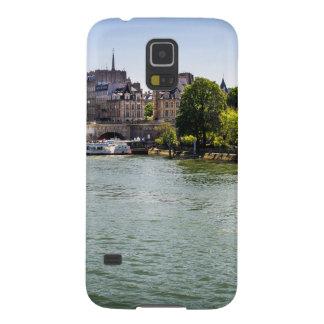 Río el Sena Ile De La Cite en la fotografía de Carcasa Galaxy S5