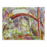 Río en el puente de las tres fuentes invitación 10,8 x 13,9 cm