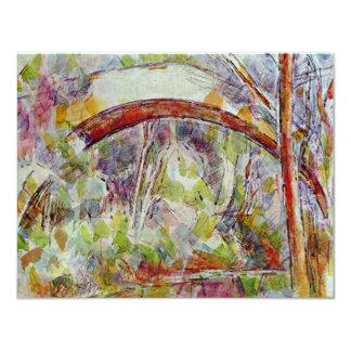 Río en el puente de las tres fuentes