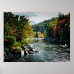 Río en la caída - Ohiopyle, PA Impresiones