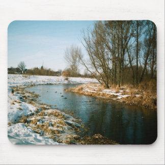 Río en Lublin, Polonia Tapete De Raton