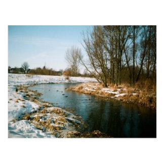 Río en Lublin, Polonia Postal
