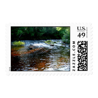 Río en Maine I Timbres Postales