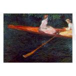 Río Epte de Claude Monet Felicitación