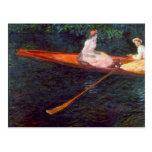 Río Epte de Claude Monet Tarjetas Postales