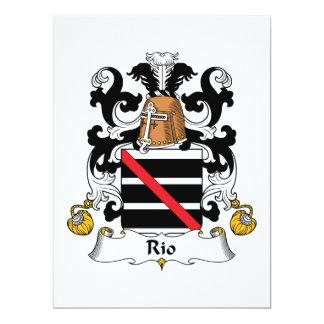 Rio Family Crest Card