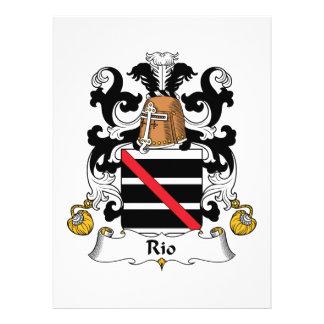 Rio Family Crest Invitation