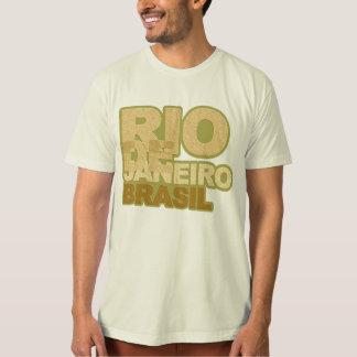 Rio font style tee shirt