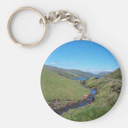 Río Fooey y Na Fooey del lago Llavero Redondo Tipo Pin