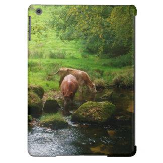Río Fowey Cornualles Inglaterra de las caídas de Funda Para iPad Air