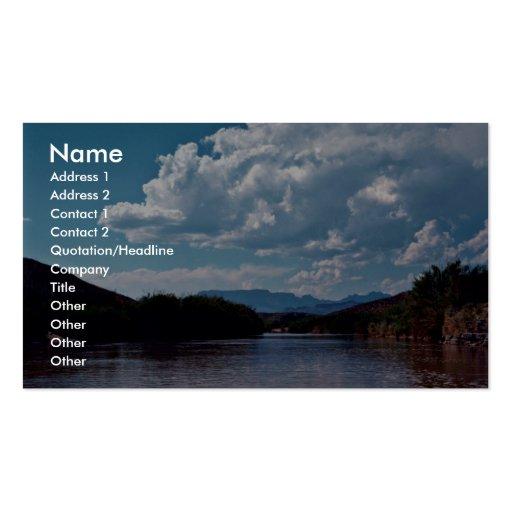 Rio Grande, Bid Bend National Park Business Card Templates