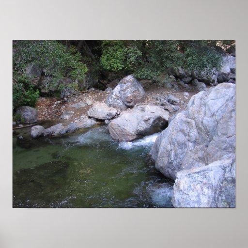 Río grande de Sur Póster