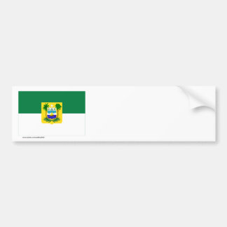 Rio Grande do Norte, Brazil Flag Bumper Sticker