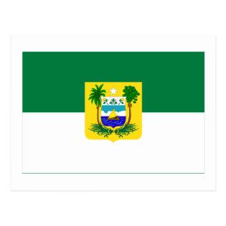 Rio Grande do Norte, Brazil Flag Postcard