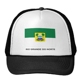 Rio Grande do Norte, Brazil Flag Trucker Hat
