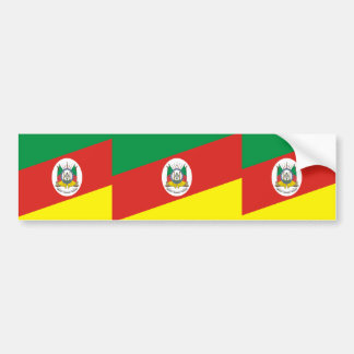 Rio Grande Do Sul Brasil, Brazil Bumper Sticker