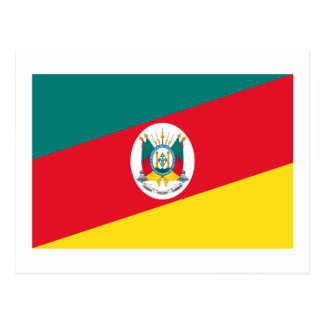 Rio Grande do Sul, Brazil Flag Post Card