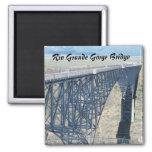 Rio Grande Gorge Bridge 2 Inch Square Magnet