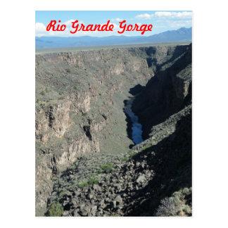 Rio Grande Gorge Postcard
