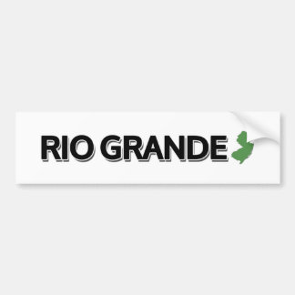 Rio Grande, New Jersey Car Bumper Sticker