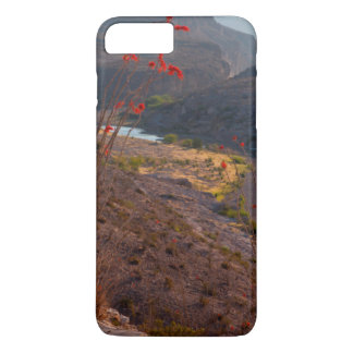 Rio Grande que corre a través del desierto de Funda iPhone 7 Plus