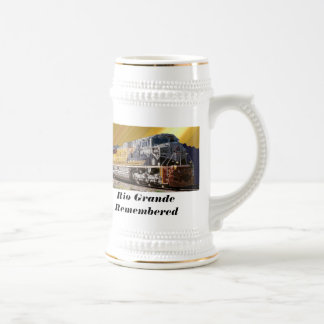 Rio Grande Remembered (UP Heritage Unit) 18 Oz Beer Stein