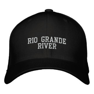 Rio Grande River Embroidered Hats