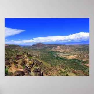 Rio Grande River, New Mexico Poster