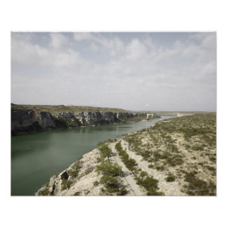 Rio Grande River, Texas, USA Poster