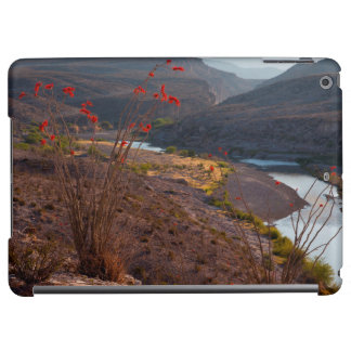 Rio Grande Running Through Chihuahuan Desert Cover For iPad Air