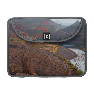 Rio Grande Running Through Chihuahuan Desert MacBook Pro Sleeve