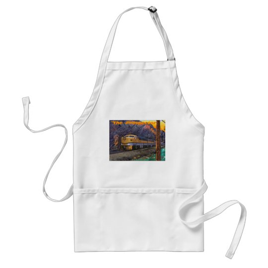 Rio Grande's Prospector in the Royal Gorge Adult Apron