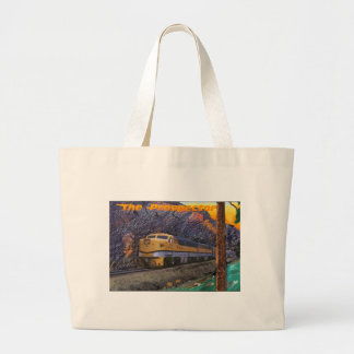 Rio Grande's Prospector in the Royal Gorge Tote Bags
