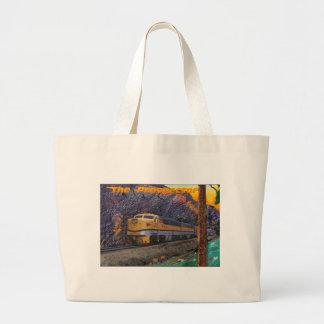Rio Grande's Prospector in the Royal Gorge Large Tote Bag