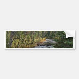 Río hermoso Oregon de Deschutes Pegatina Para Auto