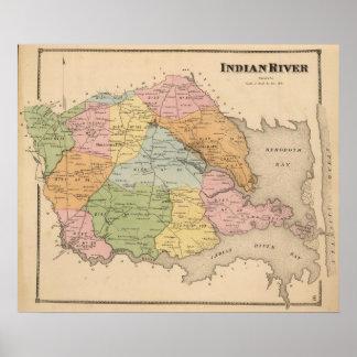 Río indio impresiones